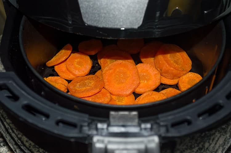 Air-fryer-carrots