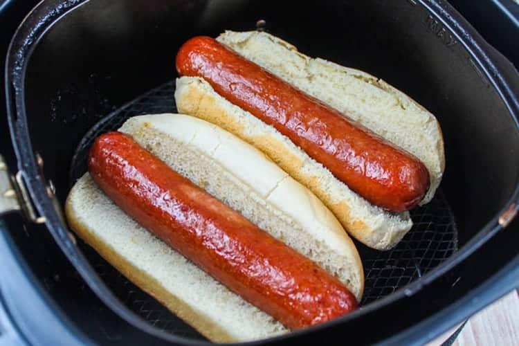 Air-fryer-hot-dogs-2